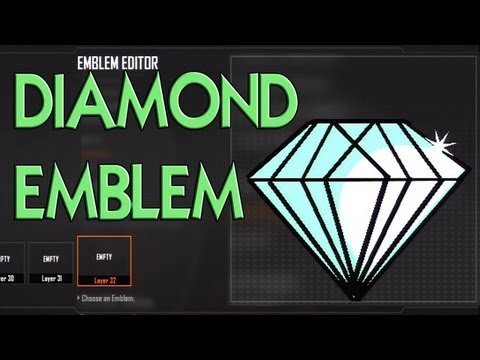 Black Ops 2 - EPIC Diamond Emblem Tutorial