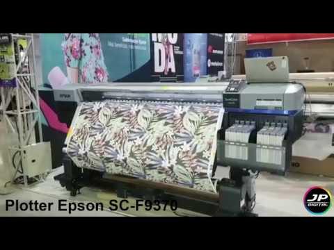 Plotter Epson original para sublimación SC-F9370