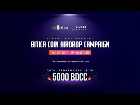 Bitica Coin Airdrop / Already Listed on Coinmarketcap
