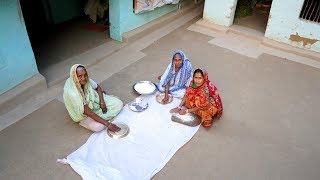 Bangali Pitha Recipe - Traditional Chushi Pitha prepared by our Grandmother at Home in Village Style