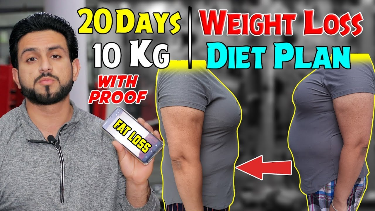 Weight Loss Diet Plan 10Kg in 20 Days Guaranteed