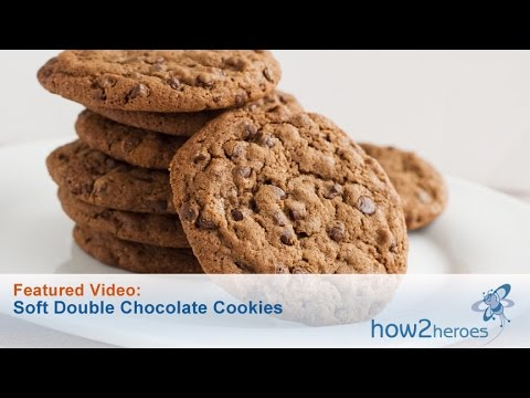Soft Double Chocolate Cookie