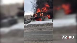 На объездной сгорел дом