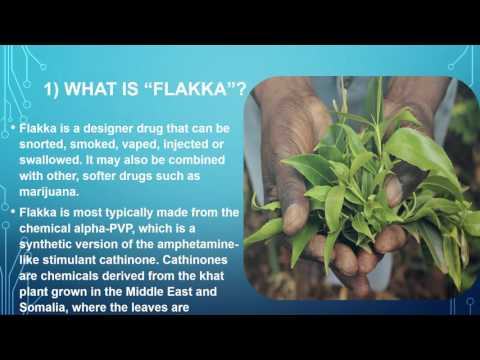 WHAT YOU NEED TO KNOW ABOUT FLAKKA. A Deadly Designer Drug