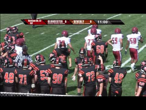 Beverly High School Football 2016: Beverly vs. Gloucester
