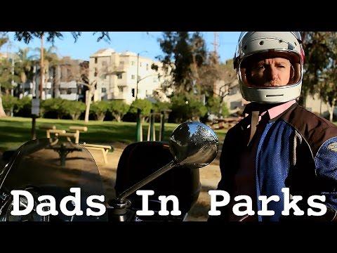 Carlos Alazraqui & His Vespa Scooter | Dads In Parks
