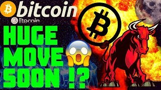 🔥BITCOIN HUGE MOVE SOON!!🔥bitcoin litecoin price prediction, analysis, news, trading