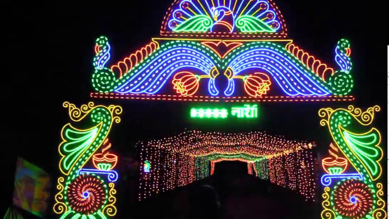 LED Light Decoration 21 . Ghatal , Paschim Medinipur
