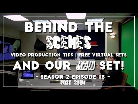 PTZOptics Live - Video Production Tips, Behind the scenes & Free Virtual Sets for Wirecast