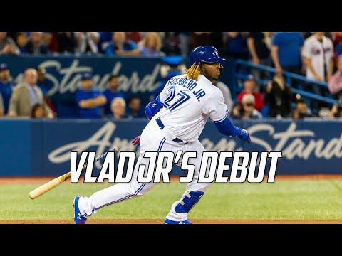 MLB | Vladimir Guerrero Jr.'s Debut