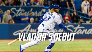 MLB | Vladimir Guerrero Jr.'s Debut