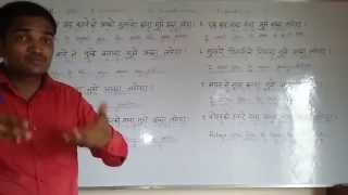 USE OF WOULD - part 1  English (spoken ) Class through Hindi. Grammar . Course.