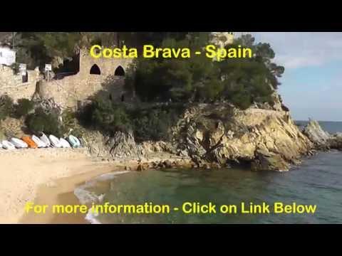Costa Brava Video - Spain Costa Brava Resort and Coastline.