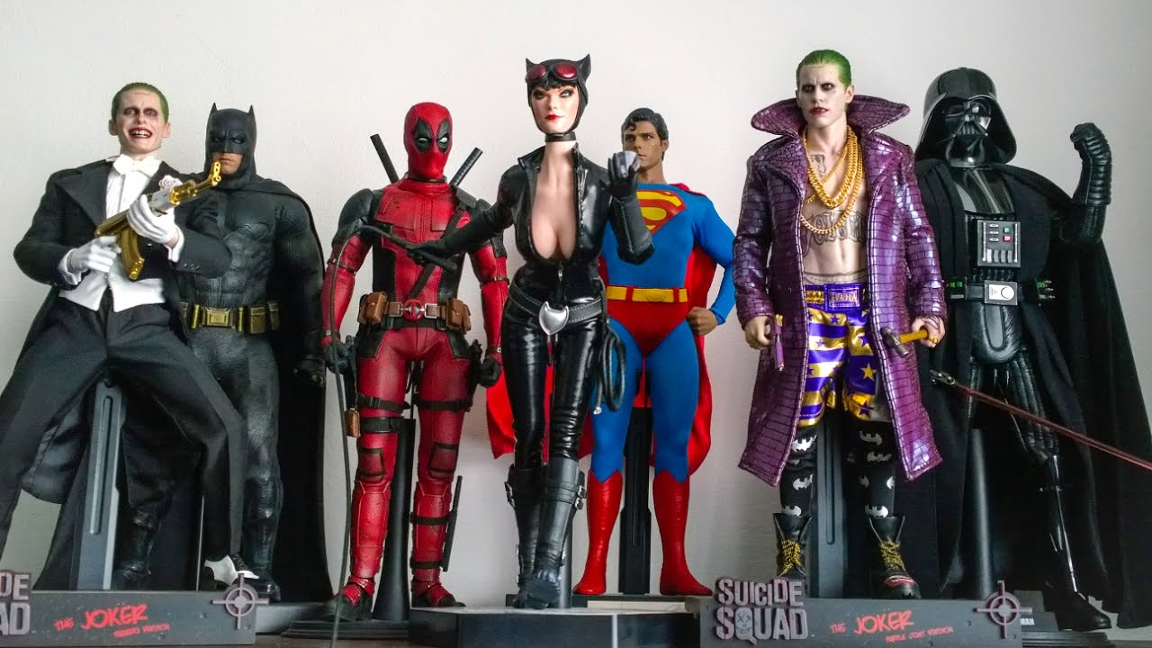 Hot Toys Collection Display 01 05 17 Youtube