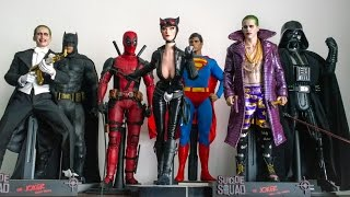 HOT TOYS COLLECTION DISPLAY 01/05/17