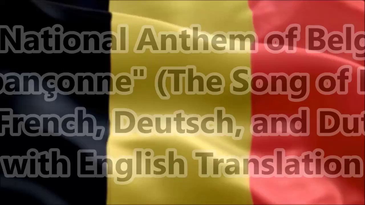 """Download Belgium National Anthem """"La Brabançonne"""" with music, vocal and lyrics FR GE DU English Translation"""