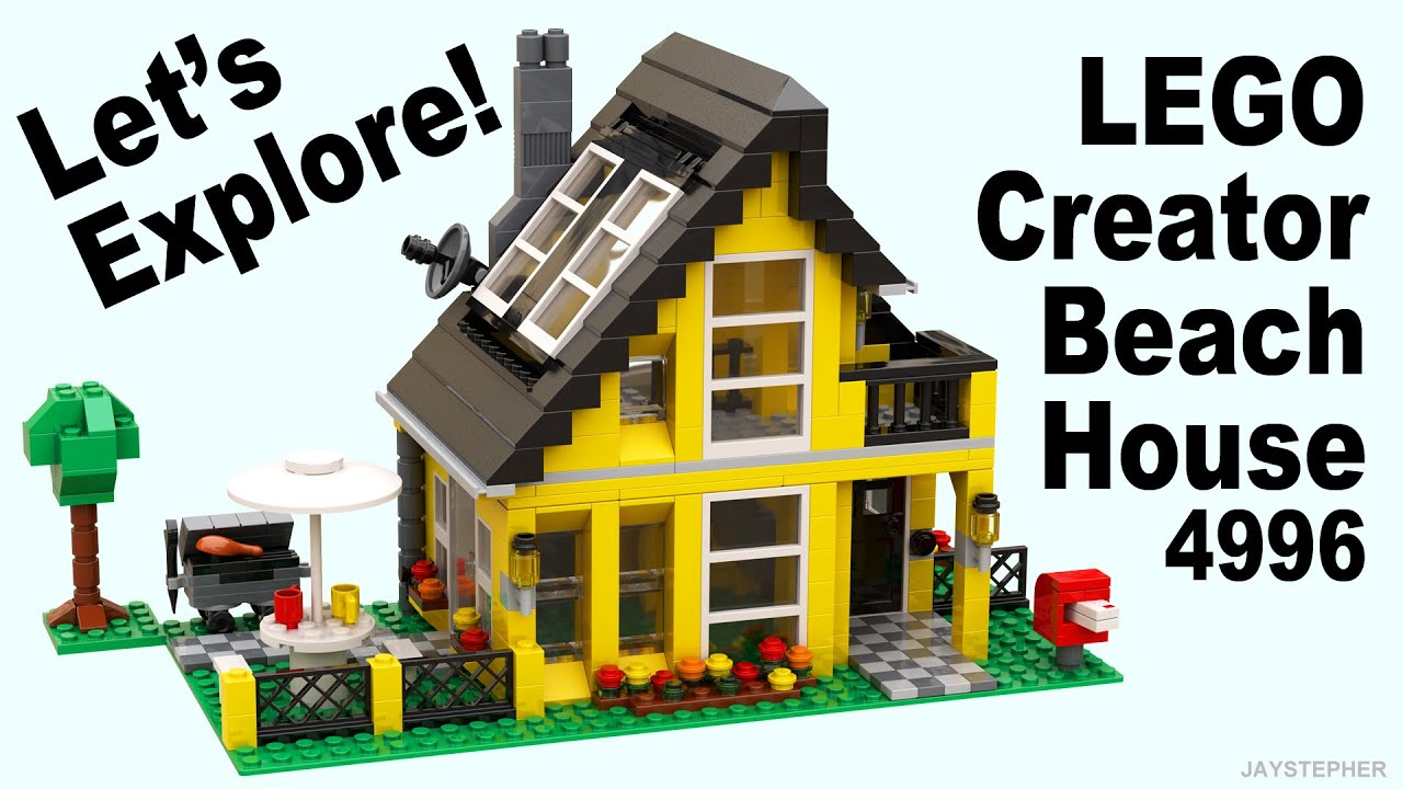 Review Lego Creator Beach House 4996 Cc Youtube