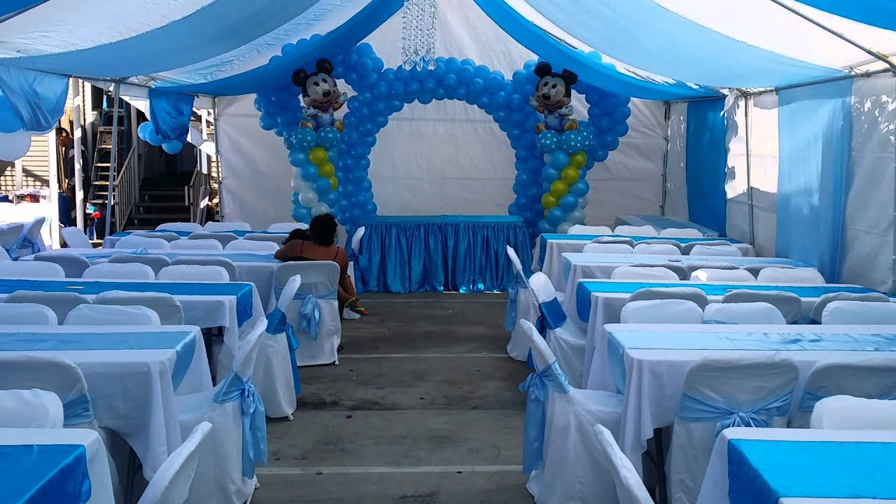 Decoracion De Baby Mickey 091915