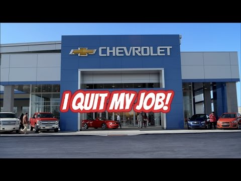 Why I Quit My Job As A Chevrolet Service Technician