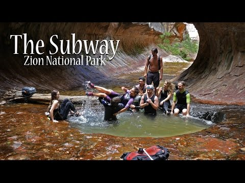 The Subway | Zions National Park | Utah ★★★★★