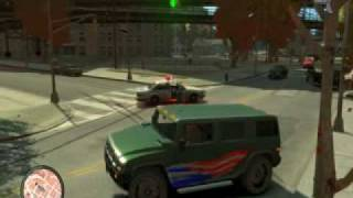 GTA IV Gameplay on very high settings