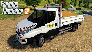 IVECO DAILY BENNE SDM - Farming Simulator 19 Mods #12   Radex