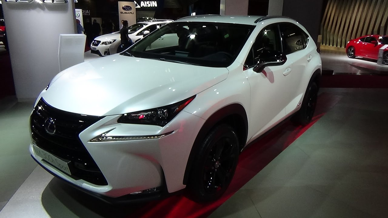 2017 lexus nx 300h sport comfort exterior and interior paris auto show 2016 youtube. Black Bedroom Furniture Sets. Home Design Ideas