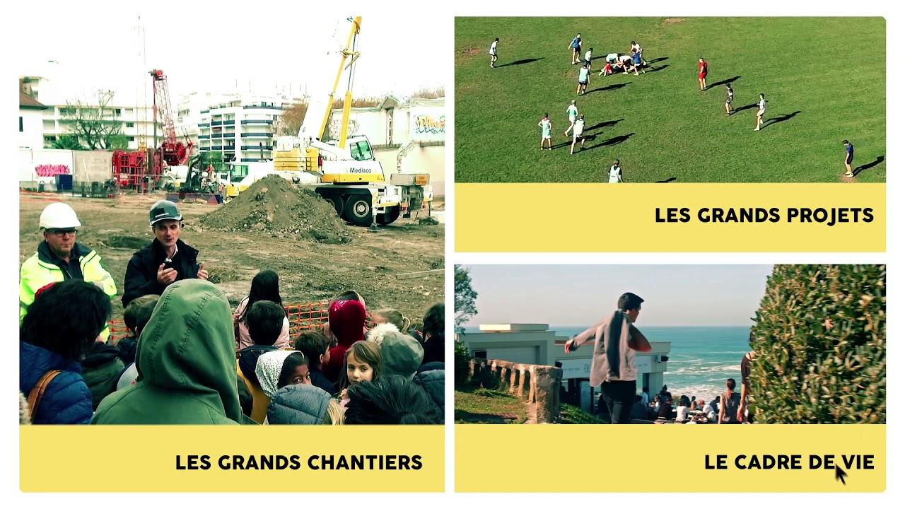 Vidéo Biarritz 2018, les grands projets