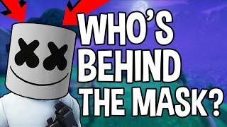 WHO'S BEHIND THE MARSHMELLO HELMET?! - Fortnite Battle Royale
