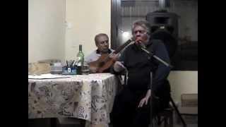 Nestor  Tape Larrivey, canta el tango María
