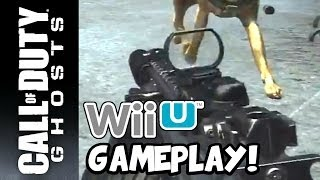 Call of Duty: Ghosts : Wii U Multiplayer Online Gameplay! [(27-3) with SA-805]