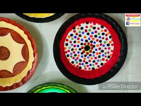 4 Best Out of waste Paper Plate Ideas| DiY Wall Decor Piece| Easy Craft| Beautiful Wall Pieces