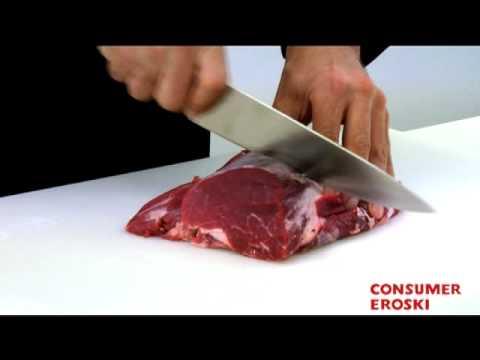 T cnicas b sicas de cocina cortes del solomillo youtube - Tecnicas basicas de cocina ...