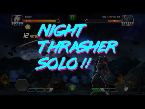 Night Thrasher Solo with Ghost