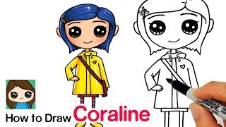 How to Draw Coraline Easy