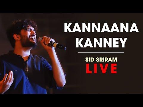 Kannana Kanne Live By Sid Sriram | Rhythm 2019