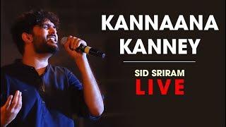 Kannana Kanne live by Sid Sriram   Rhythm 2019