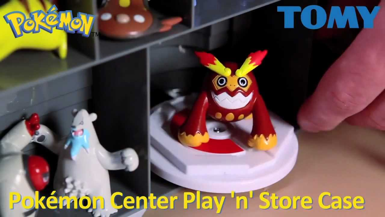 Pokemon Center Play n Store Case