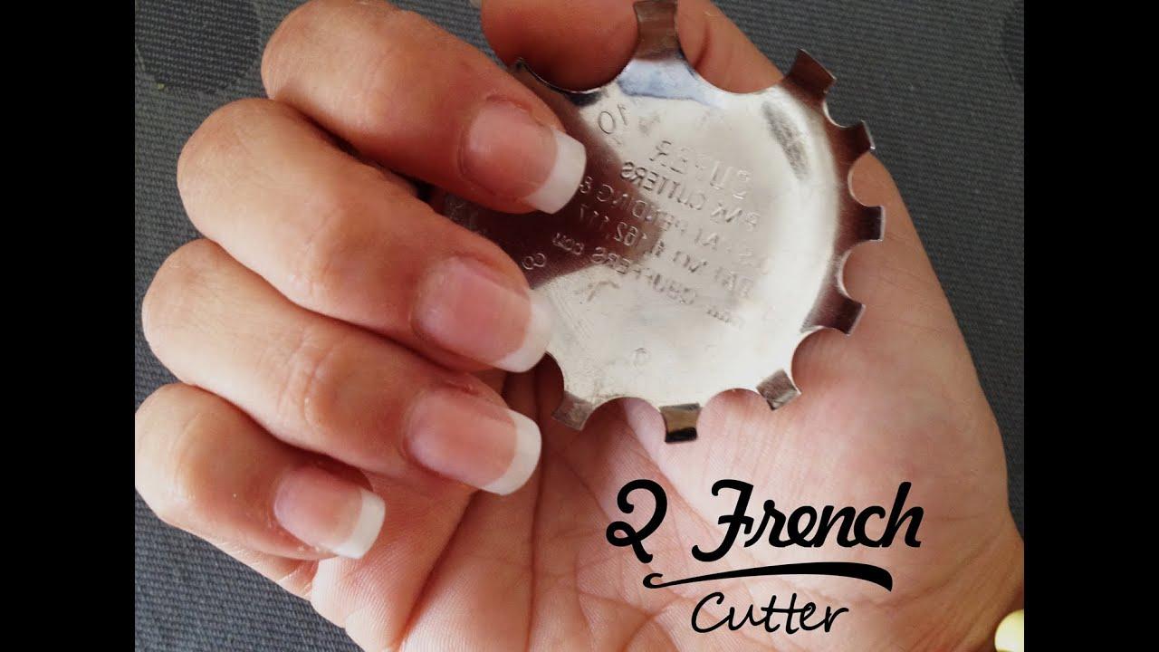 Uñas de porcelana - Cómo hacer la sonrisa perfecta (Q French Cutter ...