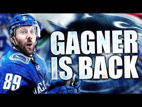 SAM GAGNER IS BACK (Relief For Horvat: Vancouver Canucks Recall Sam Gagner From AHL Toronto Marlies)
