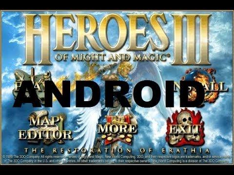 Установка Героев 3 на Андроид