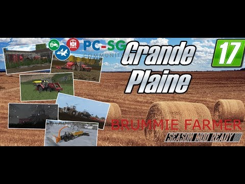 Farming Simulator 2017 | Grande Plaine | Multiplayer |  6th September 2017