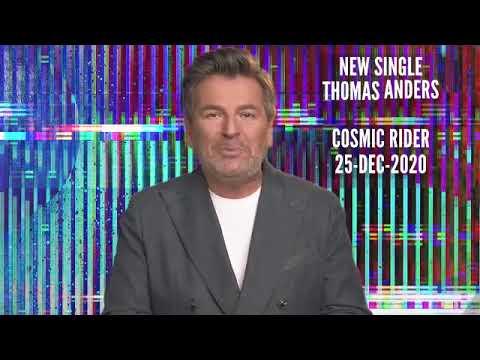 "Thomas Anders: NEW Single ""Сosmic Rider"" - 25.12.2020"