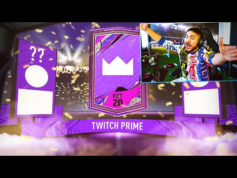 MY FREE TWITCH PRIME PACK!! HOW TO GET IT!! FIFA 20