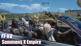 The Summon Empire Strikes Back (Mod Showcase Final Fantasy XV Bahamut Stormtrooper)