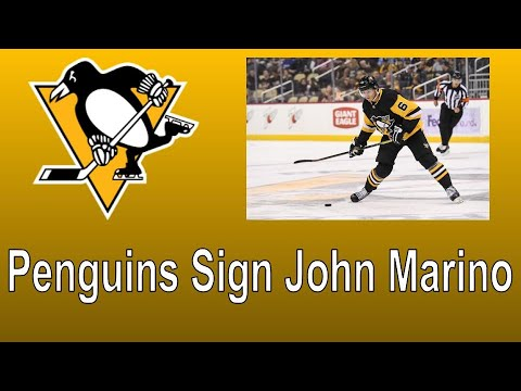 John Marino Signs 6 Year Contract with Pittsburgh