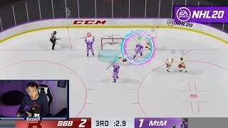 THE BEST NHL 20 GOAL EVER SCORED!?