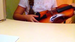 Учимся играть на скрипке урок 1