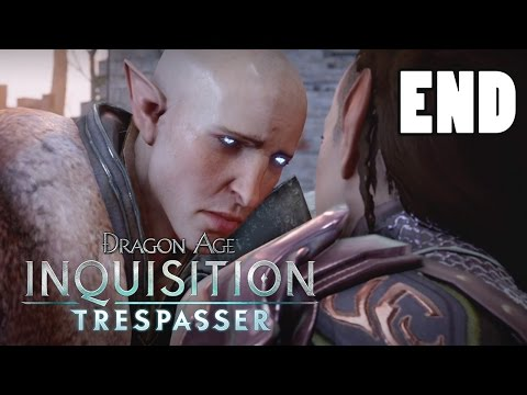 FINDING SOLAS - Let's Play: Dragon Age Inquisition Trespasser DLC Part 6 [Solas Romance] Gameplay