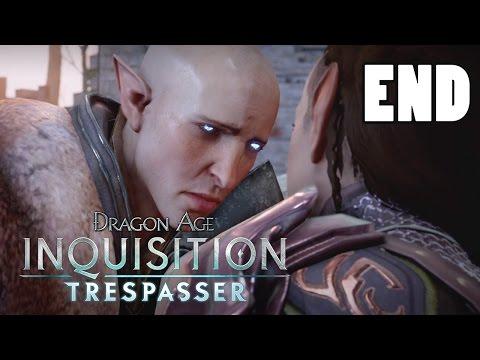 FINDING SOLAS - Let's Play: Dragon Age Inquisition Trespasser DLC Part 6 [Solas Romance] Gameplay
